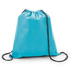 blue polyproylene sports bag