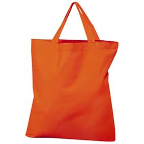 Cotton bag with short handles JASSZ