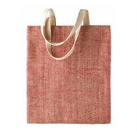 Color jute bag