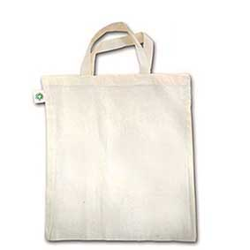 Fair Trade bag made of organic natural cotton 500