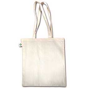 Fair Trade bag made of organic natural cotton 600