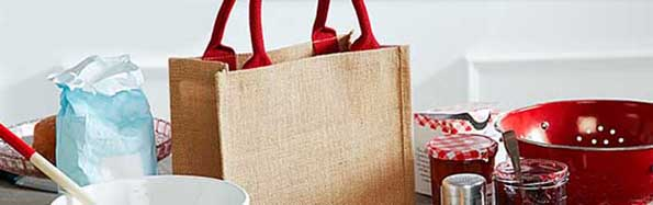 Strong bags with large capacity and natural look