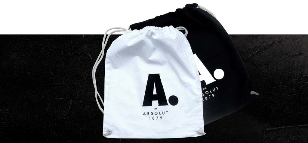 Branded sports bags